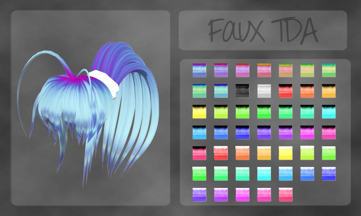 Faux TDA hair texture by OurHeartsRhythm
