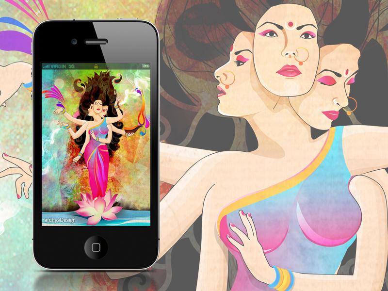 Diwali-Goddess Lakshmi by archys187