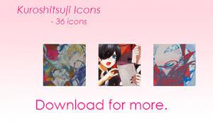 36 Kuroshitsuji II icons by JiseiHakushaku