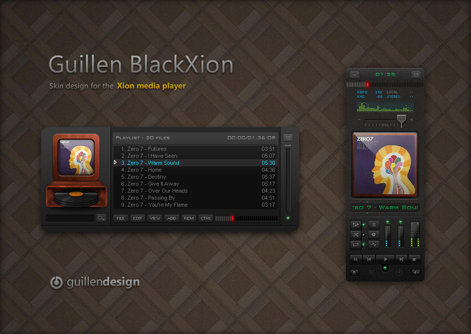Guillen BlackXion by GuillenDesign