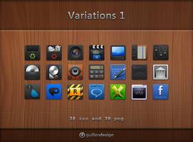 VARIATIONS  1 by GuillenDesign