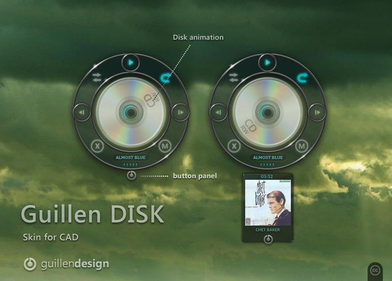 Guillen Disk by GuillenDesign