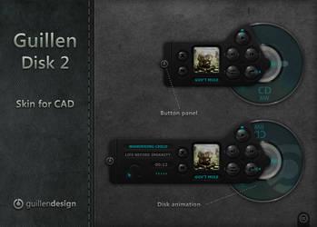 Guillen Disk 2 by GuillenDesign