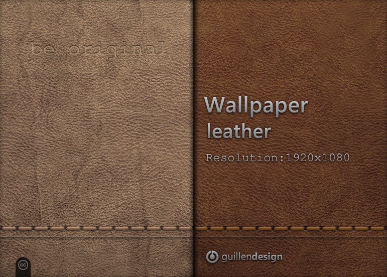 Wallpaper Leather 1920 X 1080 By Guillendesign On Deviantart