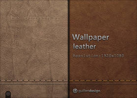Wallpaper Leather :1920 x 1080 by GuillenDesign