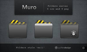 MURO  folders by GuillenDesign