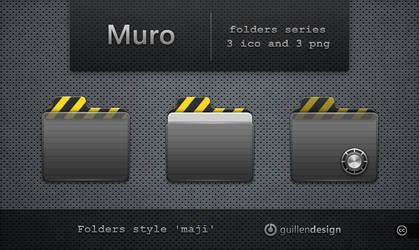 MURO  folders by GuillenDesign