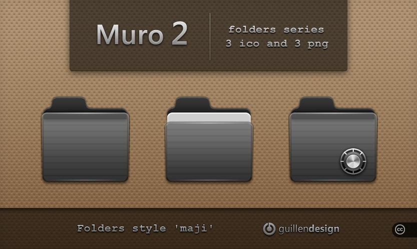 MURO  folders  2 by GuillenDesign