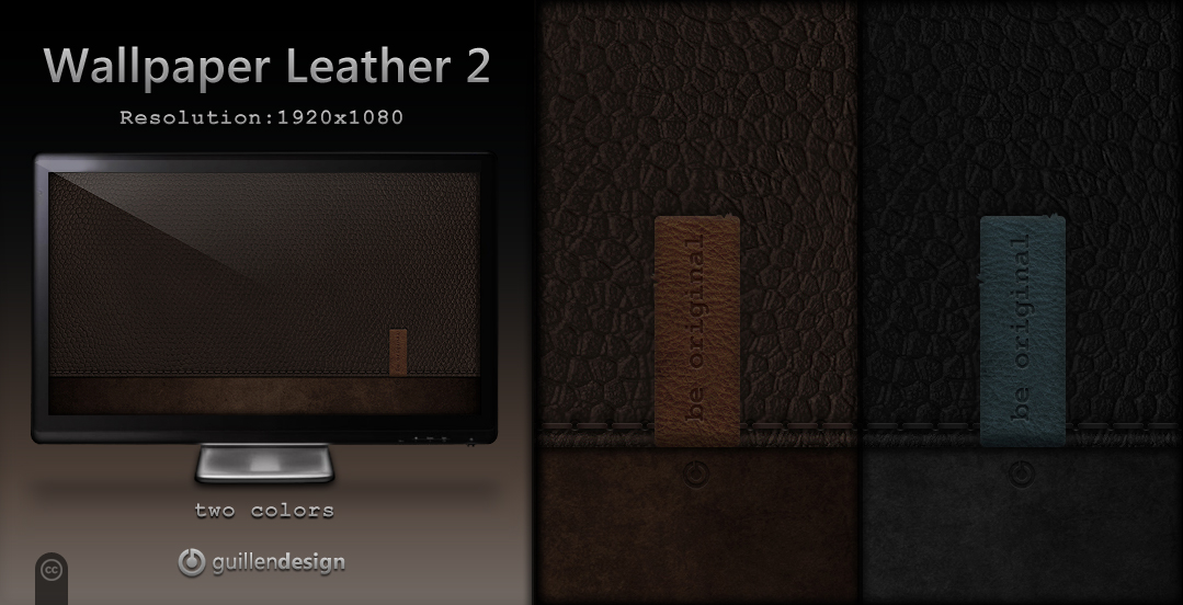 Wallpaper Leather 2