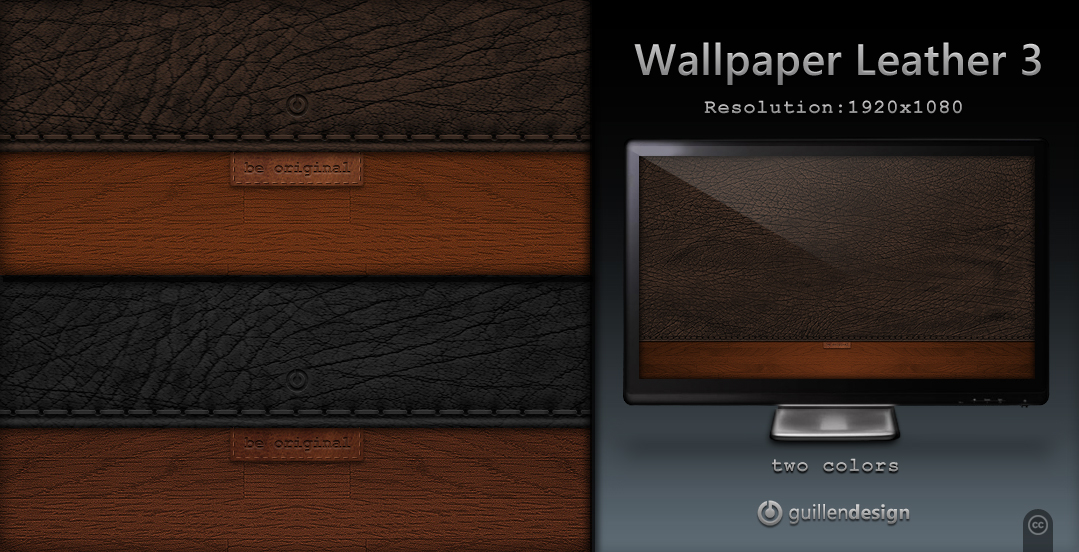 Wallpaper Leather 3
