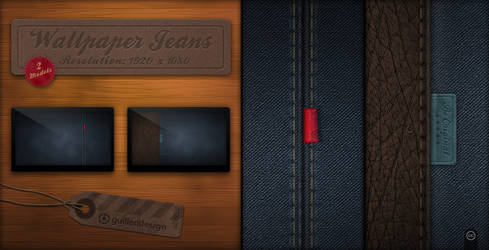 Wallpapers Jeans by GuillenDesign