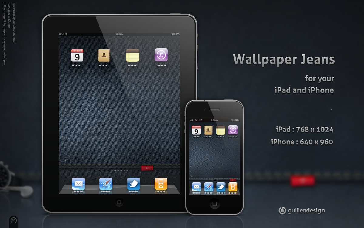 iPad-iPhone .Wallpaper Jeans