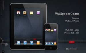 iPad-iPhone .Wallpaper Jeans by GuillenDesign