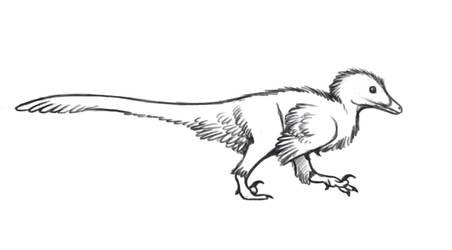 Deinonychus Walk Cycle by EWilloughby
