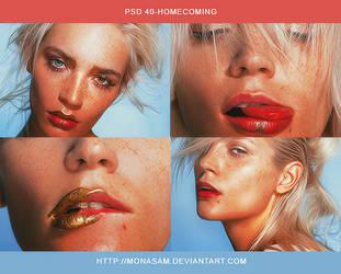 Psd 40 - HOMECOMING by monasam