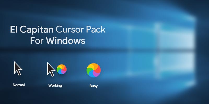 Mac Os El Capitan Cursor Pack for Windows