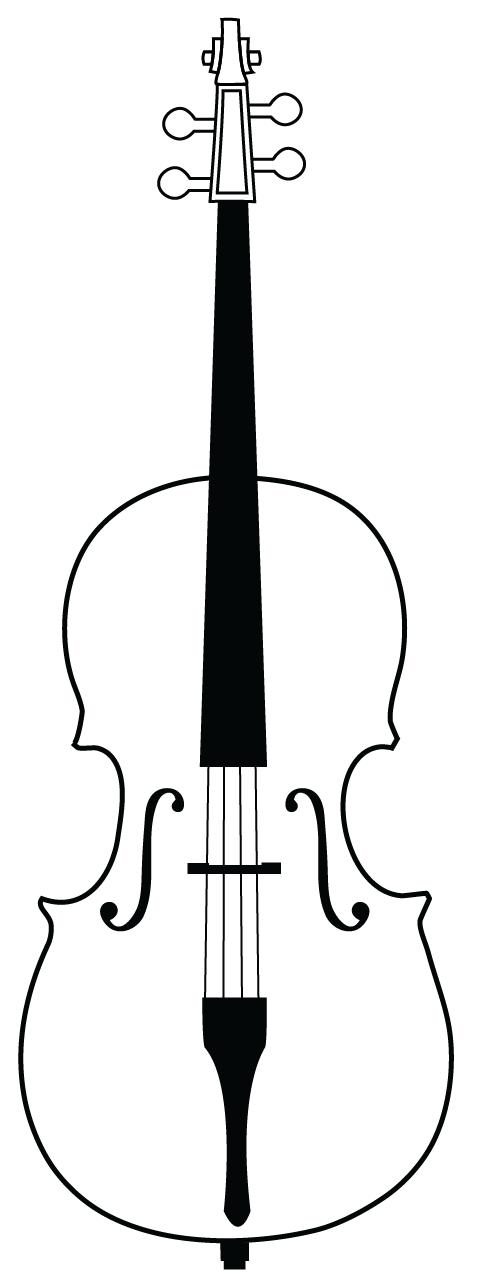 Cello Svg Free Use By Romansiii On Deviantart