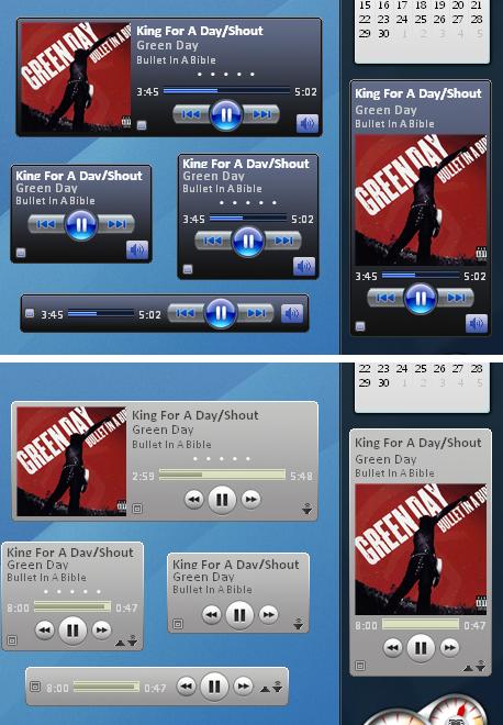 iTunes Sidebar Gadget by alexnovelli
