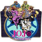 JoJo's Bizarre Adventure Golden Wind Folder Icon