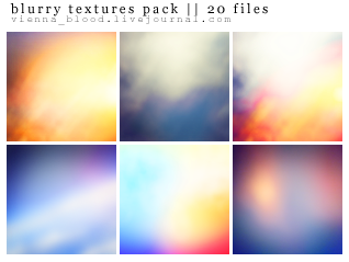 20 blurry icon textures pack by vienna-blood