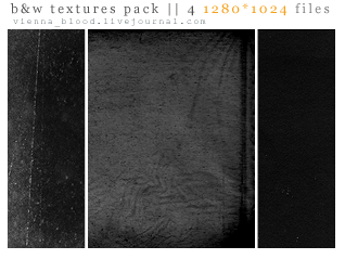 4 bw texture pack 1280x1024 by vienna-blood
