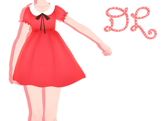 .:: MMD Cute dress- DOWNLOAD ::. by AneCoco