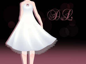 .:: MMD - White one piece Dress DOWNLOD ::.