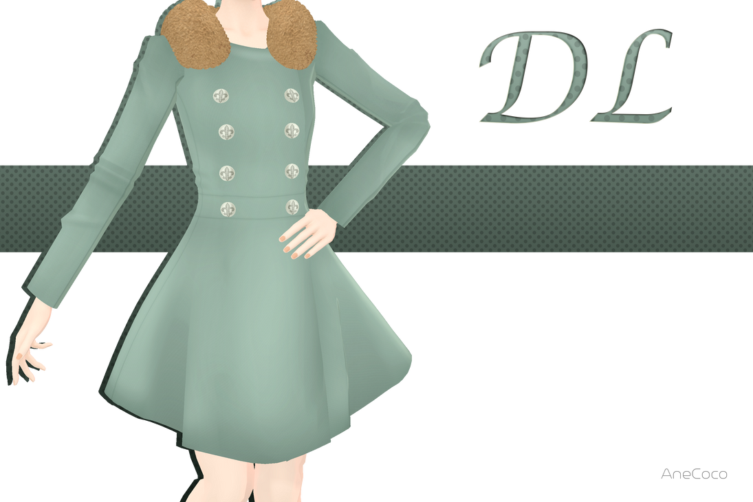 .:: MMD - Fur Coat DOWNLOAD ::. by AneCoco