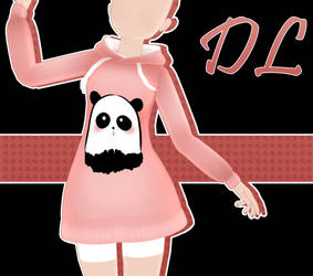 .:: MMD - Hoodie DOWNLOAD ::. by AneCoco