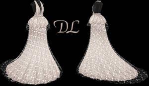 .:: MMD - Peplum Gown DOWNLOAD ::.