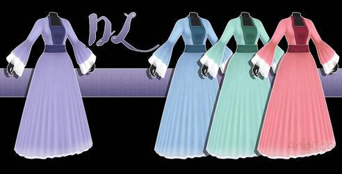 .:: MMD - Medival dress DOWNLOAD ::.