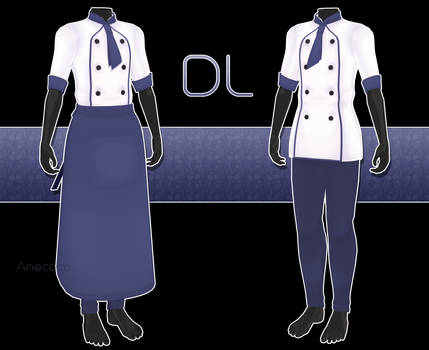 .:: MMD - Chef outfit DOWNLOAD ::.