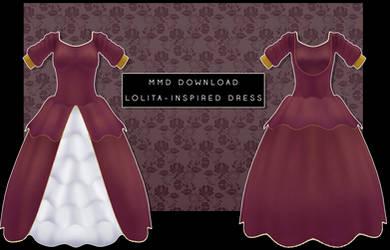 MMD- Lolita Inspired Dress [DOWNLOAD]