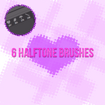 Halftone Brushes by life-is-game