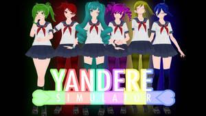 [+DL] RainbowSix Girls Yandere Simulator Students by MartukkiCheese