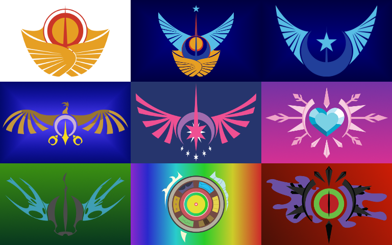 Kerbal Space Program: Emkay's MLP Emblems Flags by Axquirix