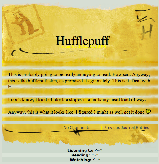 Hufflepuff by Takes-Two