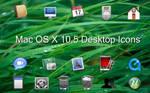 Mac OS X Desktop Icon Set