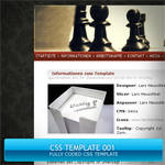 CSS Template 001