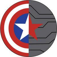 Captain America: WinterSoldier round sign