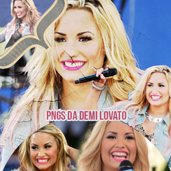 PACK PNG DEMI LOVATO by gagiva