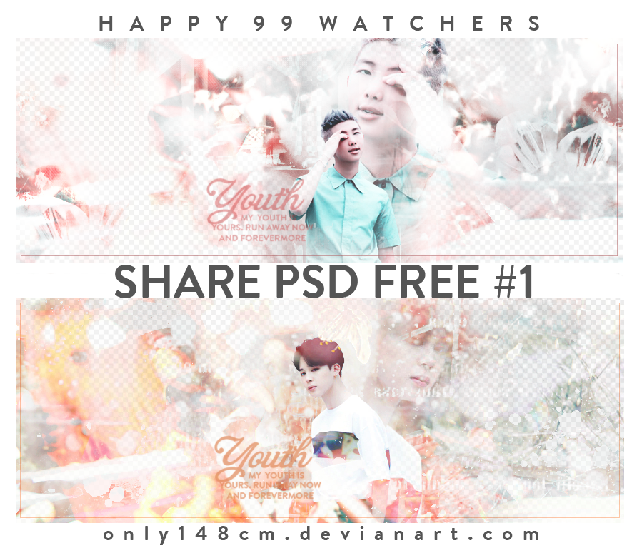240716 SHARE PSD FREE - HAPPY 99 Watchers by Only148cm