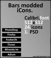 Bars modded iCons. by Diiih