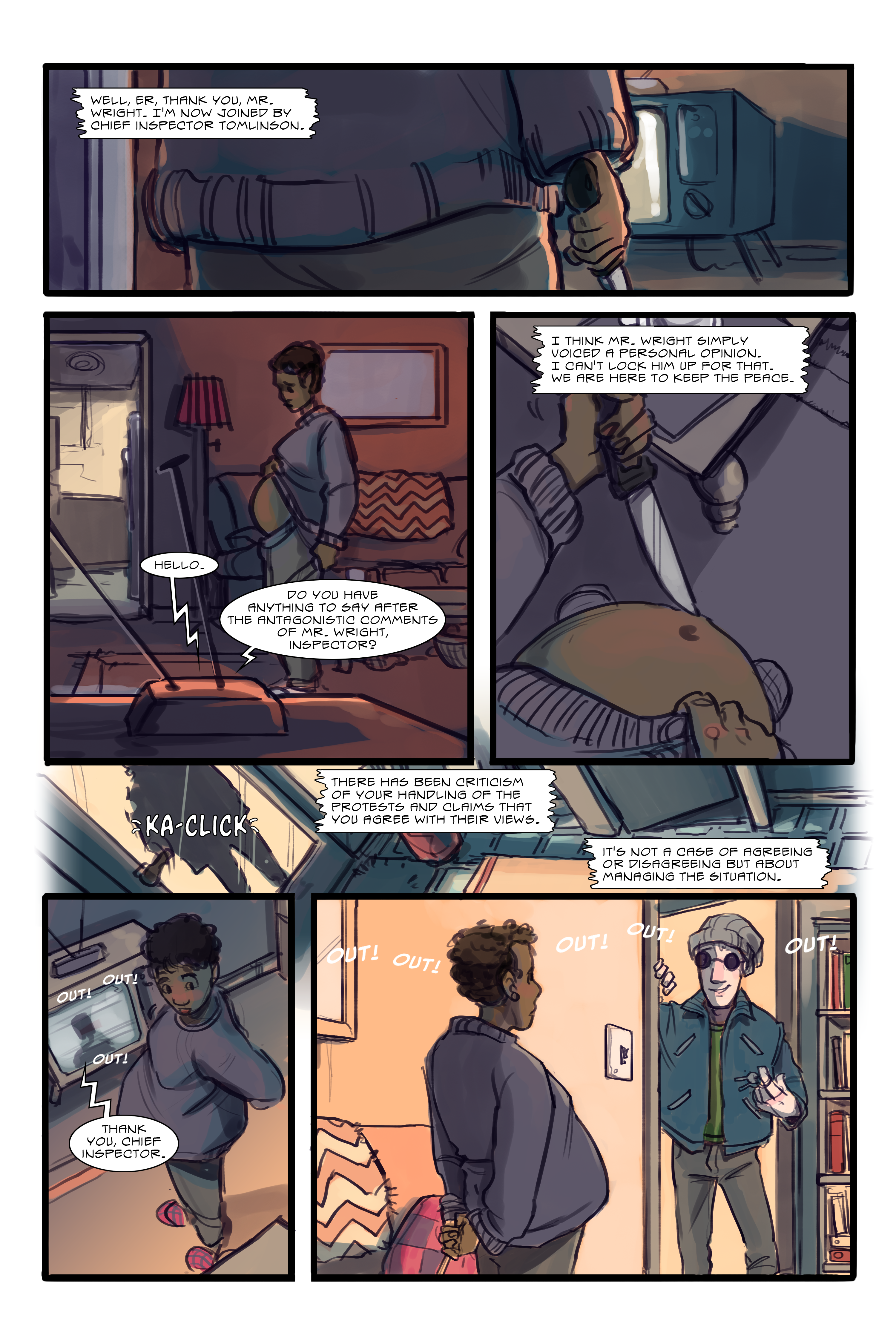 Outre (Issue #3): Out! Out! Out!