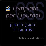 Template CSS per i journal by RetinalMist