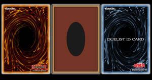 Yu-Gi-Oh! Back Card Template by HolyCrapWhiteDragon