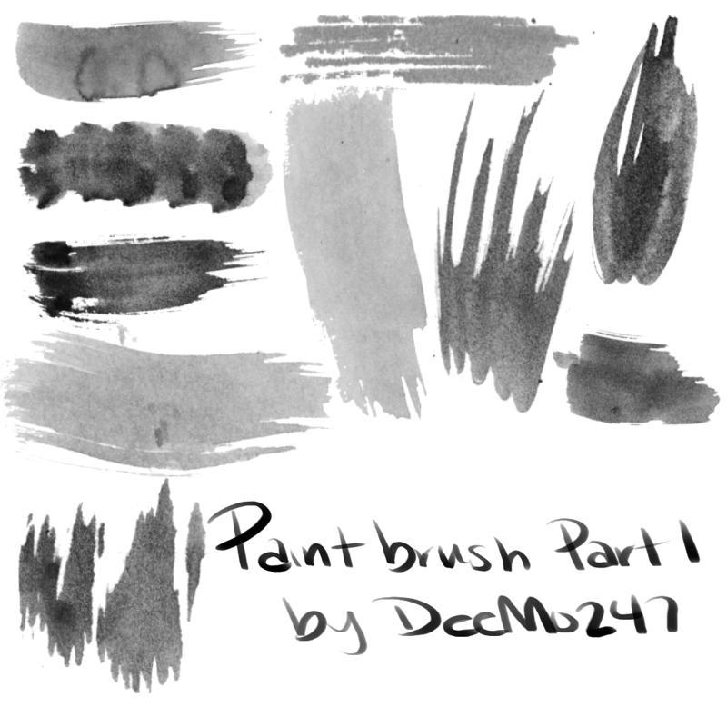painting brushes photoshop