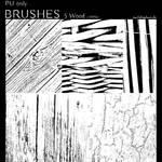 Photoshop Brushes - Wood Textures
