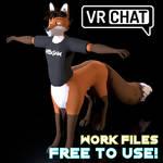 VRChat Foxtaur Public DOWNLOAD