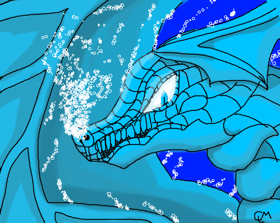 Water Dragon :D by ChMa00606